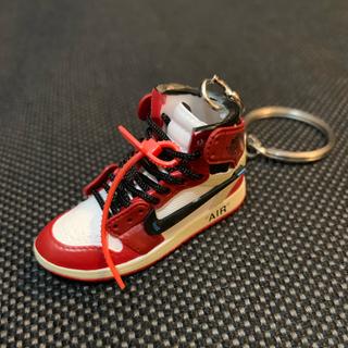 ナイキ エアジョーダン aj1  キーホルダー 右足片側のみ Nike(スニーカー)