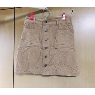 ハニーズ(HONEYS)のコーデュロイスカート(ひざ丈スカート)