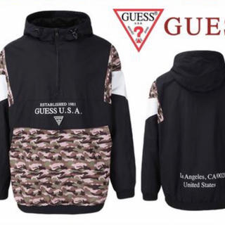 ゲス(GUESS)のGuess CAMOUFLAGE Anorak (ナイロンジャケット)