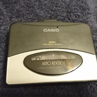 カシオ(CASIO)のかー様専用 CASIO AS-140 AUTO REVERSE 動作品(ポータブルプレーヤー)