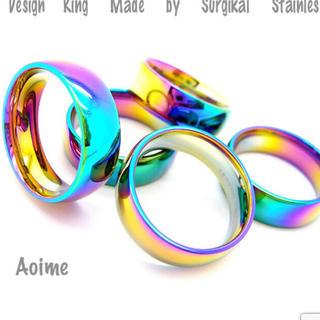 サージステンレス レインボー 指輪(リング(指輪))