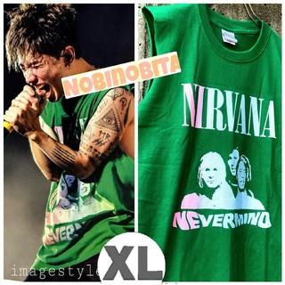 ワンオクロック(ONE OK ROCK)のXL/再入荷! nirvana nevermind T(Tシャツ/カットソー(半袖/袖なし))