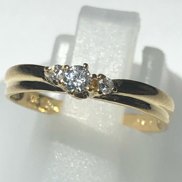 STAR JEWELRY(スタージュエリー)のダイヤモンド リング スタージュエリー k18yg イエロー レディースのアクセサリー(リング(指輪))の商品写真