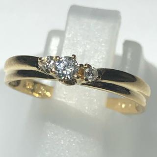 スタージュエリー(STAR JEWELRY)のダイヤモンド リング スタージュエリー k18yg イエロー(リング(指輪))