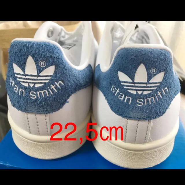 adidas(アディダス)の22,5㎝ アディダス☆スタンスミス ブルー S82259   レディースの靴/シューズ(スニーカー)の商品写真