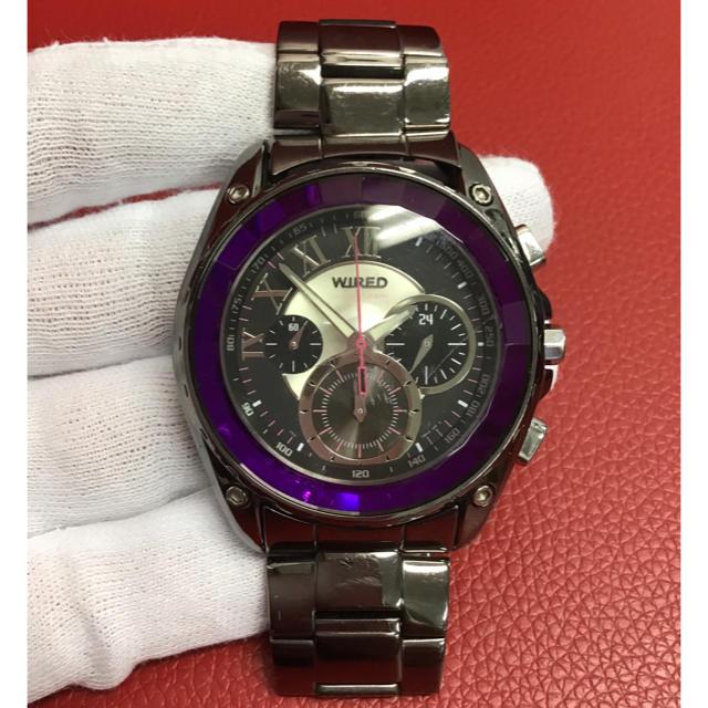 WIRED - 【週末限定特別セール】ワイアード 腕時計 クロノグラフ AGAV034の通販 by brandsale|ワイアードならラクマ