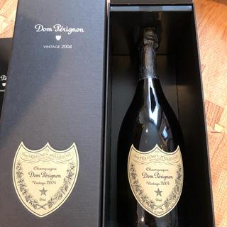 ドンペリニヨン(Dom Pérignon)のドン・ペリニヨン ヴィンテージ2004 化粧箱付 ドンペリ(シャンパン/スパークリングワイン)