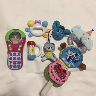 ミキハウス(mikihouse)の赤ちゃん おもちゃ セット まとめ売り 知育玩具 ラトル 布絵本 0歳 1歳(知育玩具)