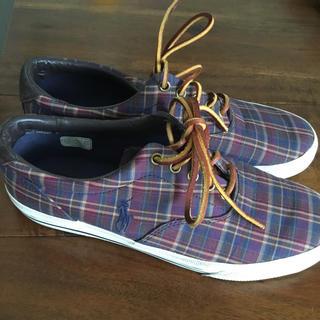 ポロラルフローレン(POLO RALPH LAUREN)のラルフローレンメンズ靴  美品(スニーカー)