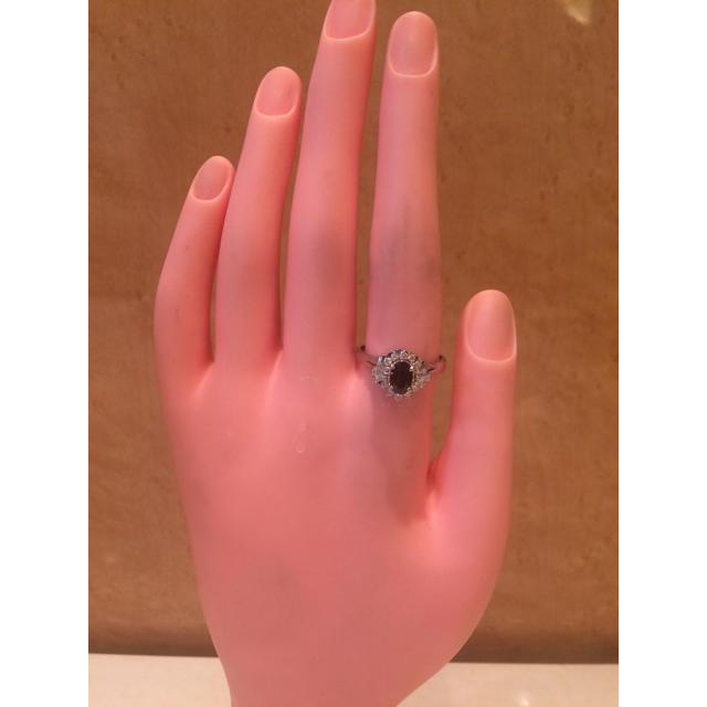 ★大きめの20号★プラチナPt900サファイア&ダイヤモンドリング★1.75ct レディースのアクセサリー(リング(指輪))の商品写真