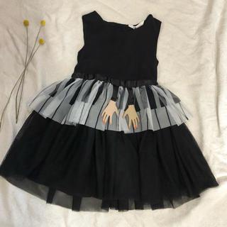 エイチアンドエム(H&M)のH&M ピアノ ドレス ハロウィン 110 ドレス(ワンピース)