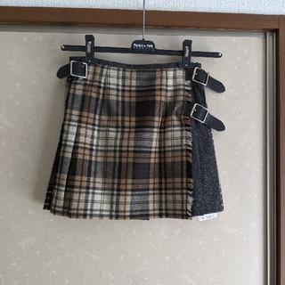 スピックアンドスパン(Spick and Span)の新品タグ付 O'NEILL OF DUBLIN アイルランド製 スカート 未使用(ミニスカート)