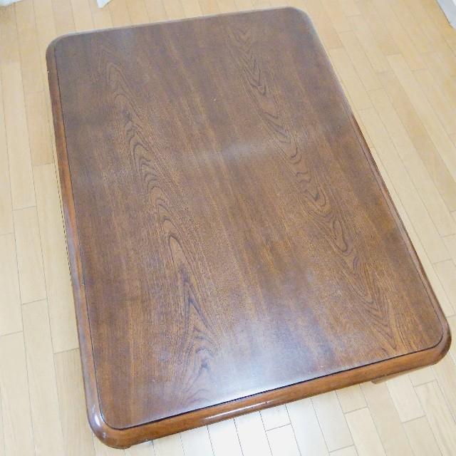 こたつテーブル YUASA ダークブラウン インテリア/住まい/日用品の机/テーブル(こたつ)の商品写真