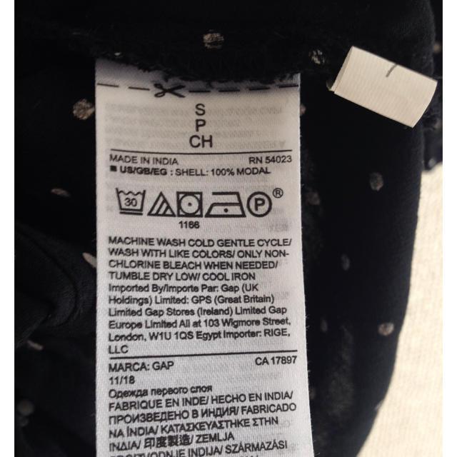 GAP(ギャップ)のGAP ドットブラウス レディースのトップス(シャツ/ブラウス(半袖/袖なし))の商品写真