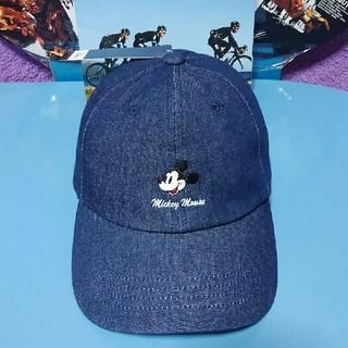 Disney - 新品タグ付きデニムキャップ