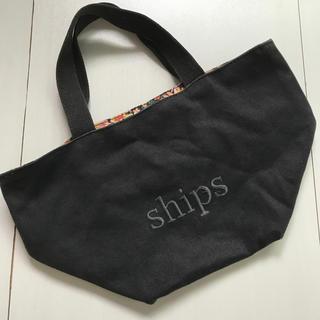 シップス(SHIPS)のships サブバッグ 黒(トートバッグ)