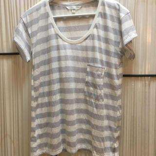 ヴィクトリアズシークレット(Victoria's Secret)のヴィクトリアシークレットボーダーシャツ(Tシャツ(半袖/袖なし))