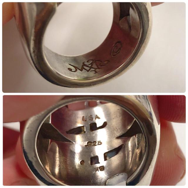 TENDERLOIN(テンダーロイン)の40,000円から37,000円にお値下げ!テンダーロイン ダラーリング メンズのアクセサリー(リング(指輪))の商品写真