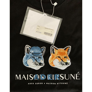 MAISON KITSUNE' - 【新品・未使用】MAISON KITSUNE x ADER コラボTシャツ