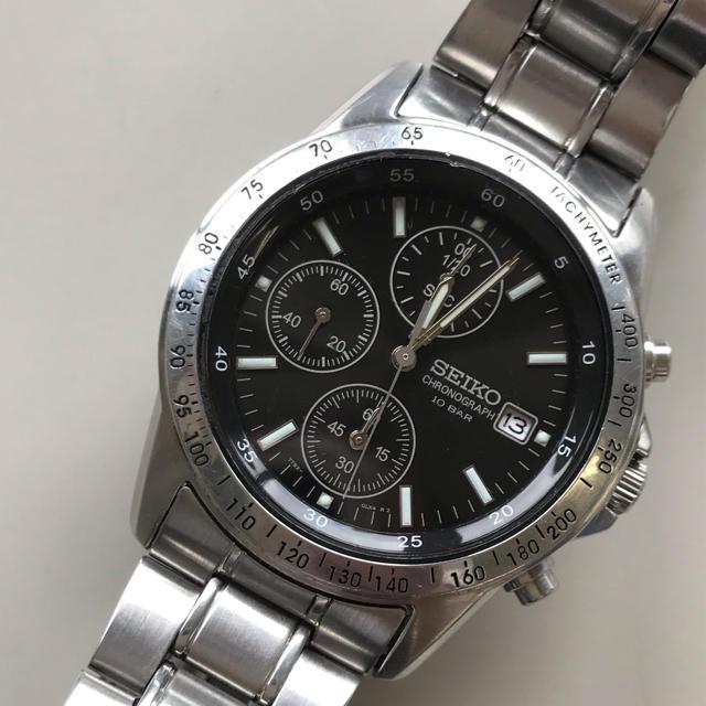 SEIKO - 腕時計 メンズ セイコー クロノグラフ の通販 by そだねshop|セイコーならラクマ