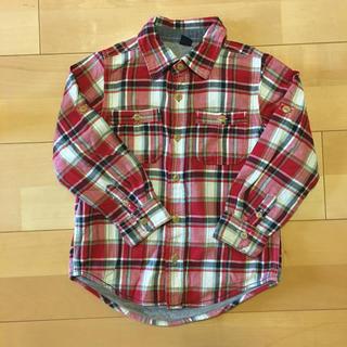 ベビーギャップ(babyGAP)のbaby Gap チェックシャツ(ブラウス)