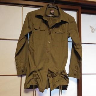 ミリタリー風シャツ 160cm(Tシャツ/カットソー)