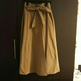 Lugnoncure サンディングスカート  ベージュ(その他)
