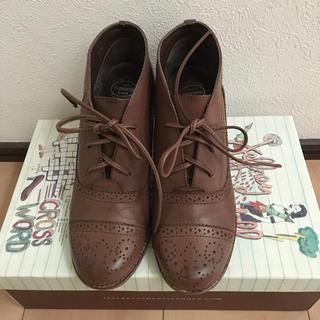ジェフリーキャンベル(JEFFREY CAMPBELL)のJeffrey Campbell ジェフリーキャンベル レースアップシューズ(ローファー/革靴)