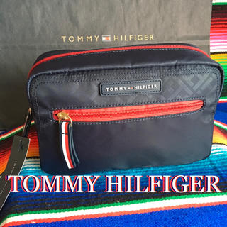 TOMMY HILFIGER - Tommy HilfigerトミーUS限定モノグラムポーチセカンドバッグ
