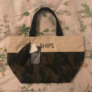 シップス(SHIPS)のシップス タッセル ポケット トートバッグ(トートバッグ)