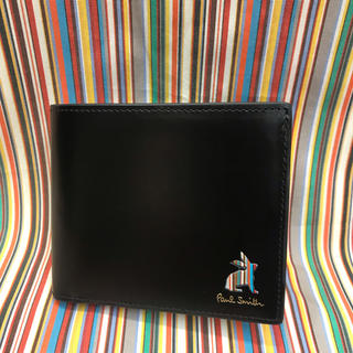 ポールスミス(Paul Smith)の新品未使用 ポールスミス 折財布(ブラック)(折り財布)