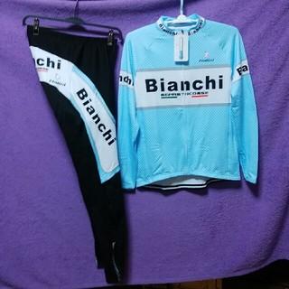 ビアンキ(Bianchi)のイタリアの空🚲BianchiサイクルジャージL(ウエア)