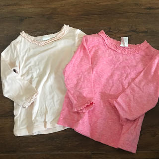 エイチアンドエム(H&M)のロングTシャツ ロンT トップス(Tシャツ)