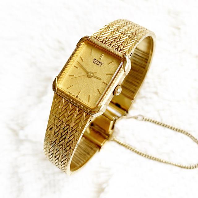 SEIKO - 電池交換込み☆ セイコー スクエア レディース腕時計の通販 by Pinor's shop|セイコーならラクマ