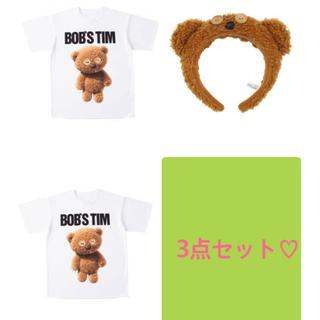 ユニバーサルスタジオジャパン(USJ)のミニオン ティム Tシャツ ユニバーサルスタジオ 3点セット カップルコーデ(衣装一式)
