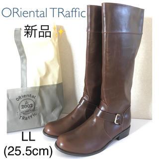 オリエンタルトラフィック(ORiental TRaffic)の【新品✨】ORiental TRaffic ロングブーツ LL(ブーツ)