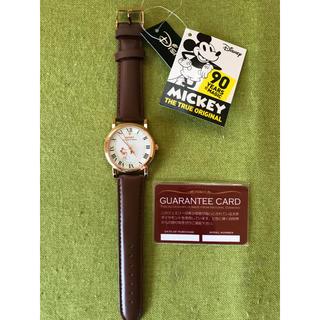ディズニー(Disney)の天然ダイヤモンドつき【ミッキー 90周年腕時計】(腕時計(アナログ))