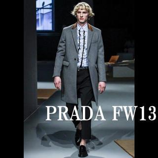プラダ(PRADA)のPRADA 2013FW Look #44 カシミヤ混ウール チェスターコート(チェスターコート)