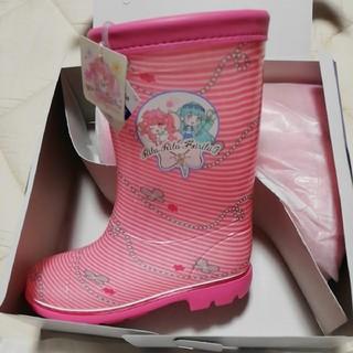 ムーンスター(MOONSTAR )の新品moon star長靴サンリオリルリルフェアリルレインブーツ2E18cm女児(長靴/レインシューズ)