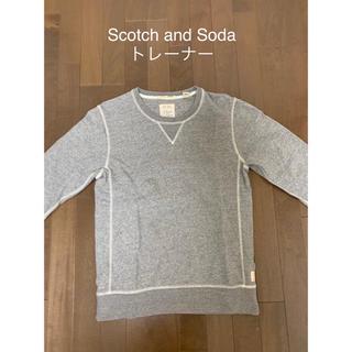 スコッチアンドソーダ(SCOTCH & SODA)のScotch and Soda トレーナー グレー Sサイズ(スウェット)