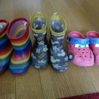 シマムラ(しまむら)の長靴&サンダル セット 14cm(長靴/レインシューズ)