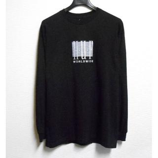 HUF - HUF*ハフ/US:XL/[LINEAR]胸ロゴ刺繍クルー長袖Tシャツ