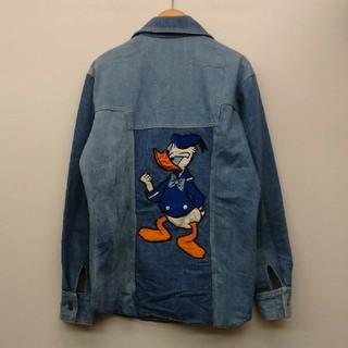 ディズニー(Disney)のVINTAGE UNIQUE BOUTIQUES デニムシャツジャケット(Gジャン/デニムジャケット)
