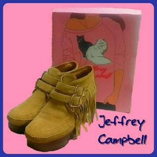 ジェフリーキャンベル(JEFFREY CAMPBELL)の美品 ジェフリーキャンベル JeffreyCampbell ウエスタンブーツ(ブーツ)