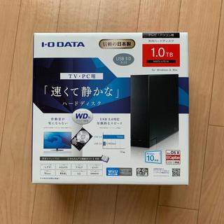 アイオーデータ(IODATA)の1TB WD製HDD ケース付き IO DATA HDCL-UTE1K(PC周辺機器)