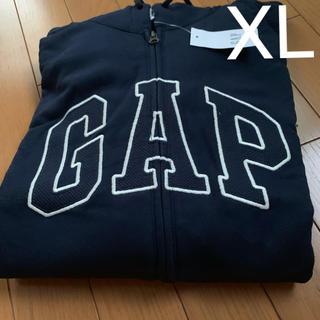 GAP - 新品GAPメンズジップアップパーカー紺色XL