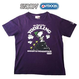 スヌーピー(SNOOPY)の激レア!SNOOPY x OUTDOOR PRODUCTS コラボTシャツ(Tシャツ/カットソー(半袖/袖なし))
