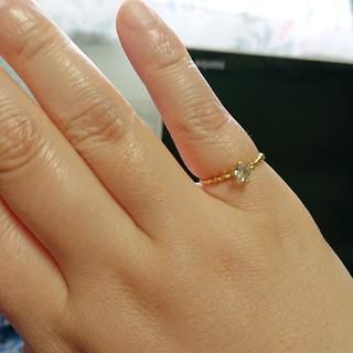 グリーンガラスの指輪(リング(指輪))
