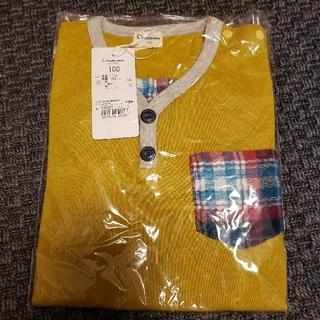 Combi mini - コンビミニ トップス 長袖 黄色 100サイズ 男の子