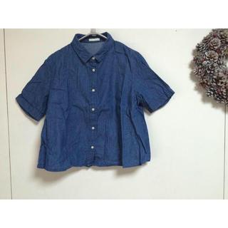 ジーユー(GU)のGU  デニムシャツ ❁❁(シャツ/ブラウス(半袖/袖なし))
